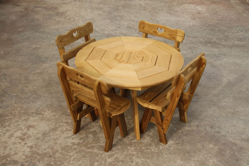 Octogon Table Set