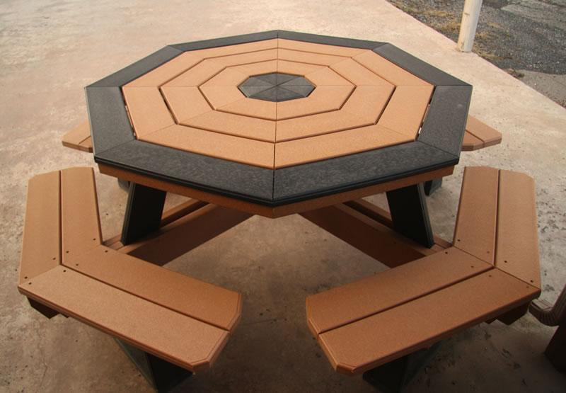 Hexagonal Picnic Table Plans Pdf Poly Patio Tables