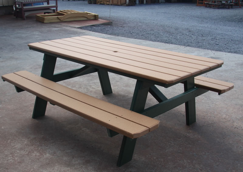 poly picnic tables air hill lawn furniture