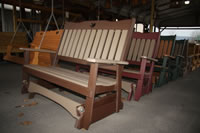 Poly Porch Glider